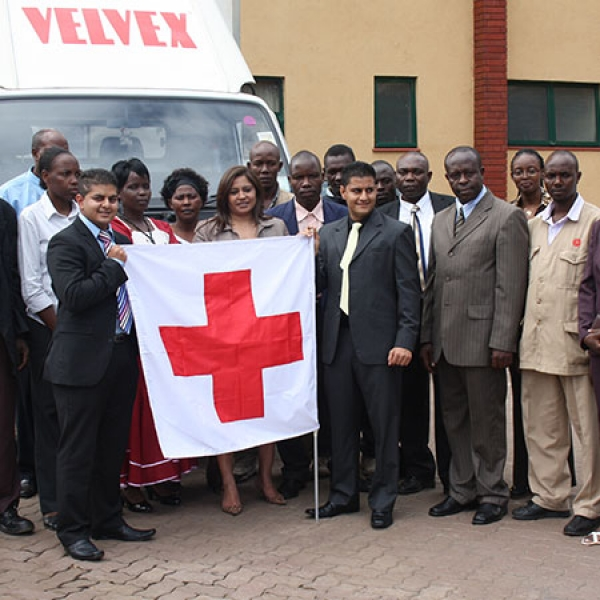Donations to Kenya Red Cross